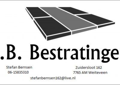 SB bestrating